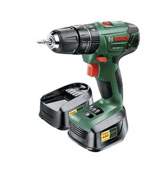 Bosch Cordless 18V 1.5Ah Li-ion Brushed Combi drill PSB 1800 LI 2 £80 @ B&Q