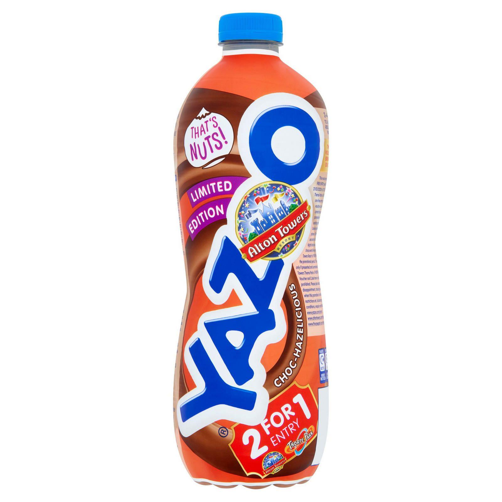 Yazoo 1l milkshakes various flavours £1.10 @ Iceland