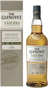 The Glenlivet Nàdurra Single Malt Scotch Whisky, 70cl (First Fill Selection) reduced to £37.51 at Amazon