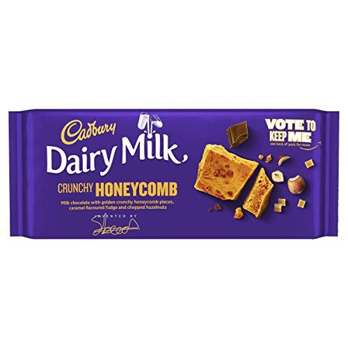 Cadbury Dairy Milk Crunchy Honeycomb Chocolate Bar 105g £1 (+ £2.50 Non Prime) @ Amazon