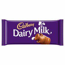 Cadbury Dairy milk/whole nut/fruit and nut/caramel 200g bar £1.50 @ tesco