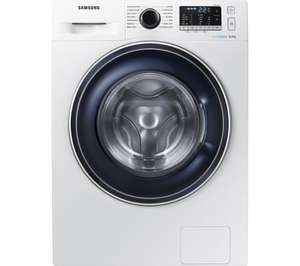 SAMSUNG ecobubble WW80J5555DW 8 kg 1400 Spin Washing Machine White/Graphite with 5 Year Warranty £329 with code @ Currys