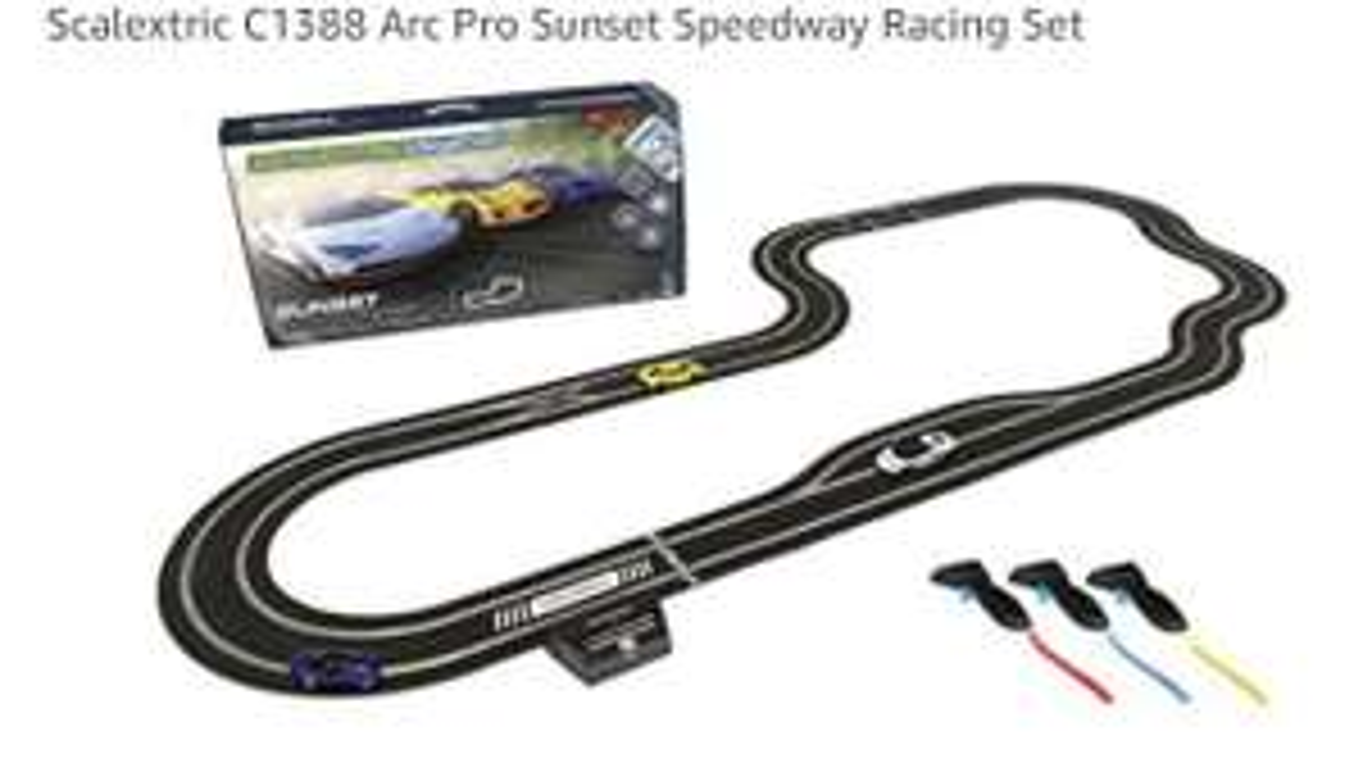 Scalextric C1388 Arc Pro Sunset Speedway Racing Set £297.06 @ Amazon