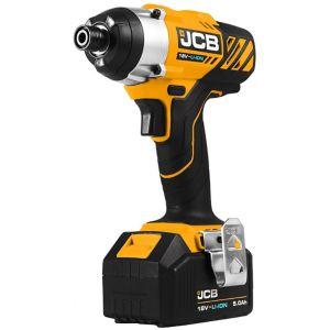 JCB 5A Li-ion Impact driver 1 battery batteries JCB-18ID-5 - £85 @ B&Q
