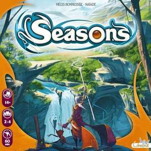 Seasons Board Game £28.50 with code @ PlayBoardGames