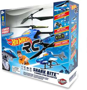Hot wheels DRX tiger shark RC helicopter - £10 @ Tesco (Hornchurch)