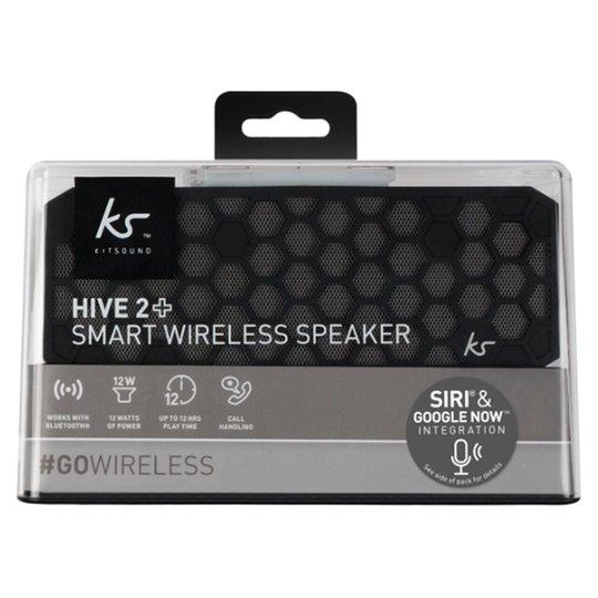 Kitsound Hive 2 Bluetooth Speaker Black £40 @ Tesco Perth