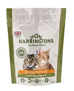 HARRINGTONS Cat Food Complete Chicken with Rice, 425 g (Pack of 6) - £5.93 (+£4.49 NP / £3.95 S&S with voucher) @ Amazon