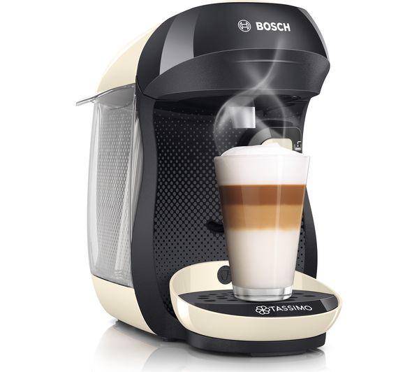 Refurbished Bosch Tassimo TAS1007GB Coffee Machine 0.7L, Cream £25.99 delivered @ primeretailing ebay