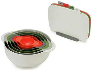 Joseph Joseph Duo 6 Piece Food Preparation Bowl Set or Duo 4 Piece Chopping Board - £17.50 @ Argos (free click and collect)