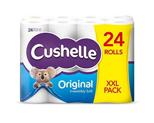 Cushelle Toilet Tissue XXL White - 24 Rolls - £8 @ Tesco