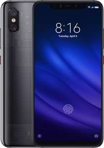 Xiaomi Mi 8 Pro 6.26 inch AMOLED 128GB 20MP Sim Free Mobile Phone - Black for £199.95 @ Argos (free click and collect)