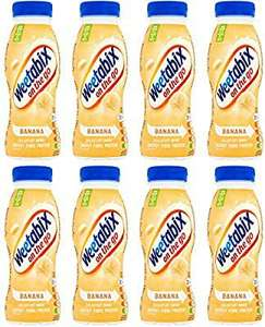 Weetabix on the go banana breakfast drink 250ml pack of 8 £5.76 prime (£4.49 p&p non prime) £4.90-£5.47 s&s @ amazon