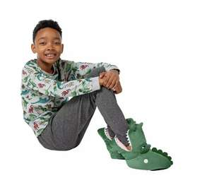 Adventure Is Out There Crocodile Slippers £1.50 + Free Click and Collect at Argos