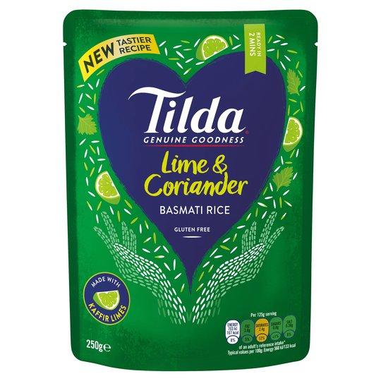 Tilda Rice sachets 250g, many varieties, £0.75 at Tesco