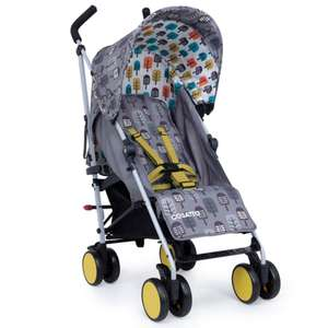 Cosatto Hula Supa Lightweight Trees Stroller - Umbrella Fold with Multi-reclining Seat now £79.95 delivered @ Online4baby