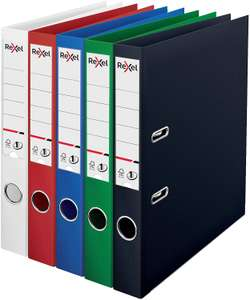 Rexel A4 Lever Arch File, Assorted Colours, 50 mm Spine Width, No.1 Power, Pack of 10 - £5.79 Prime / +£4.49 non Prime @ Amazon