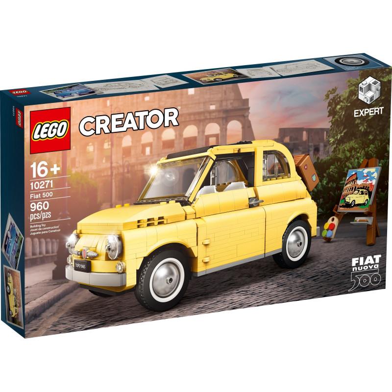 LEGO Creator Expert 10271 Fiat 500 £67.50 with code @ Hamleys