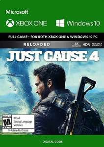 Just Cause 4: Reloaded (Xbox One ) - £11.99 @ CDKeys