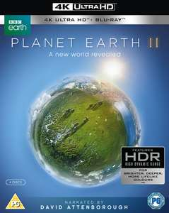 Planet Earth II 4K UHD + Blu Ray, £12.99 at music-and-film-store / ebay
