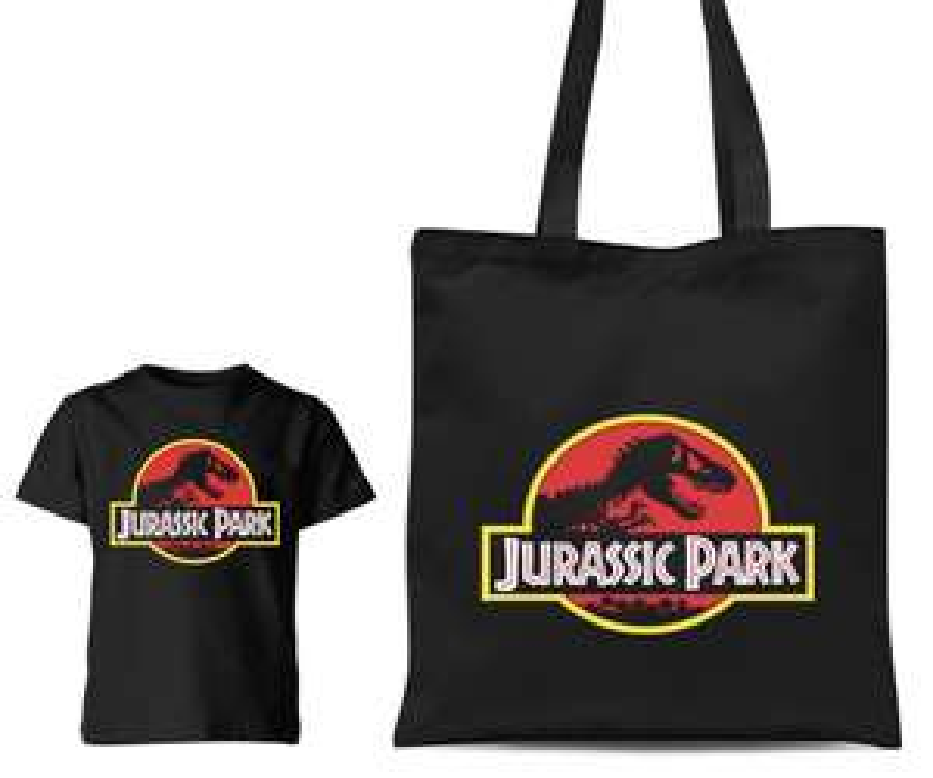 Jurassic Park T-shirt & Tote bag for £8.99 @ Zavvi + £1.99 Shipping