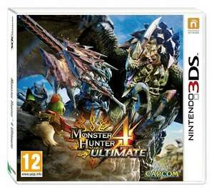 Monster Hunter 4 Ultimate (3DS) £1.99 (Free Click & Collect) @ Argos ebay