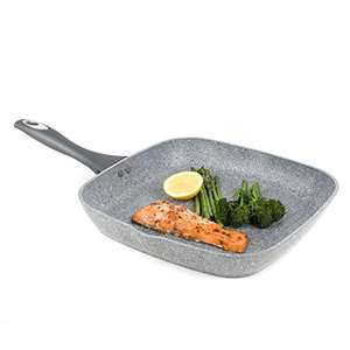 Salter Non Stick Griddle Pan, Aluminium, Grey, 28 cm £10.00 Prime / (+£4.99 Non Prime) Amazon