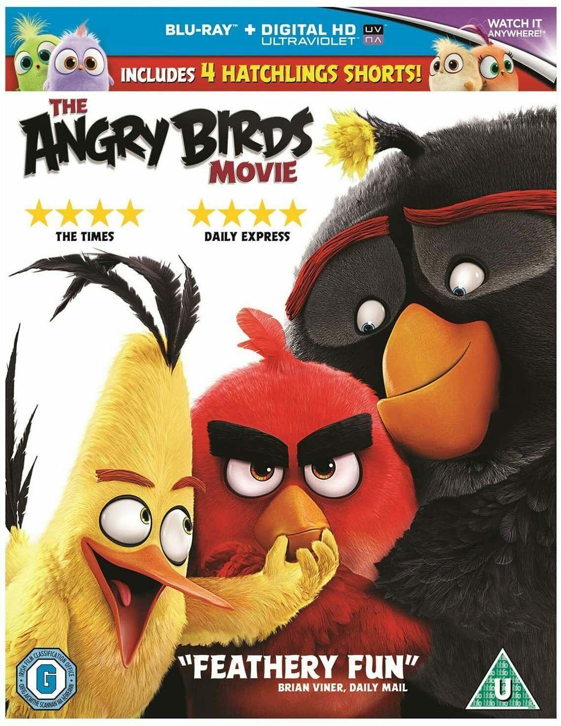 The Angry Birds Movie Blu Ray + Digital - 99p delivered @ mediasellersuk / eBay