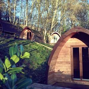 Shropshire Glamping Pod Stay for 2 People - 1 night £23.20 / 2 nights £39.20 with code (new account) @ Groupon