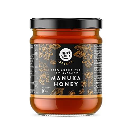 Amazon Brand - Happy Belly Select Manuka Honey 10+, 340gr - MGO 261 £21.32 Amazon