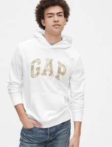 Gap Logo Pullover Hoodie in French Terry £11.99 (S-XL) - Free Click & Collect @ Gap
