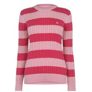 Jack Wills Woman's Jumper Tinsbury Classic Cable Crew £20 @ Jack Wills Shop (£4.99 Delivery)