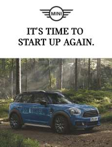 0% APR on the adventure ready MINI Countryman SUV via BMW Store
