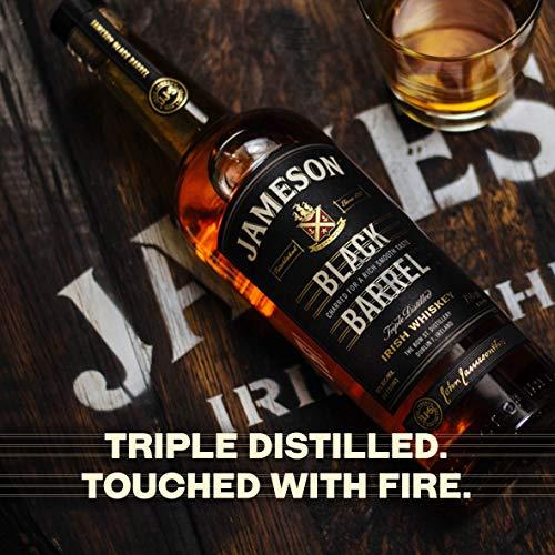 Jameson Black Barrel Blended & Triple Distilled Irish Whiskey, 70cl - £25.49 @ Amazon