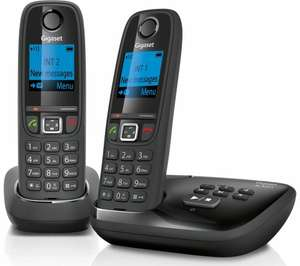 GIGASET Duo AL415A Cordless Phone with Answering Machine - Twin Handsets £34.99 @ Currys