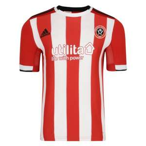 Kids Sheffield United 2019 top by Adidas, £15 and £4 P+P via Sheffield United FC Store