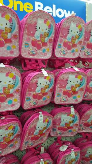Hello kitty back bag £1 at One Below
