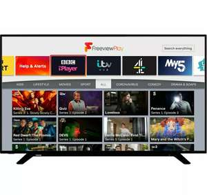 Toshiba 43U2963DB 43 Inch TV Smart 4K Ultra HD LED Freeview HD 3 HDMI Dolby £260 @ AO / eBay