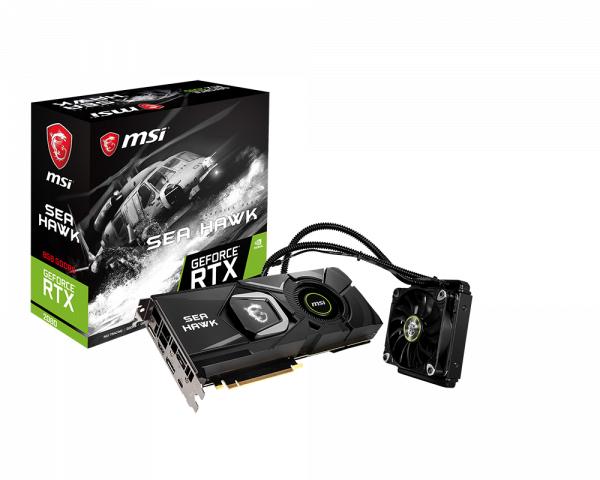 MSI RTX 2080 Sea Hawk X Graphics Card GPU £585.03 @ Amazon