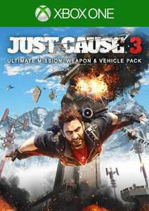 Just Cause 3 Ultimate Mission, Weapon & Vehicle Pack Xbox One (UK) £4.99 @ CDKeys