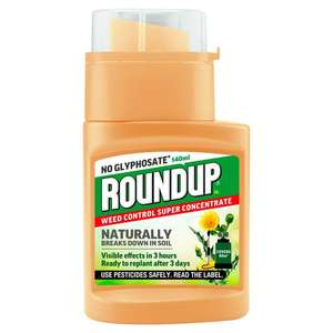 Roundup Natural Concentrate 140ml £2 @ Morrison's