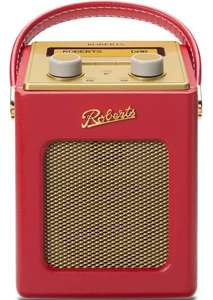Robert Revival Mini DAB+/DAB/FM Radio only £99.99 in Red colour @ Roberts Radio