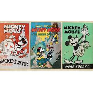 Vintage Disney Mickey Mouse Wallpaper Border @ Debenhams Online £4 FREE P&P with Code