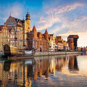 2 Nights in Gdansk (Including Centrally Located Apartment & Return flight from London Stansted) £44.50p/p (£89 total) @ Booking.com/ Ryanair