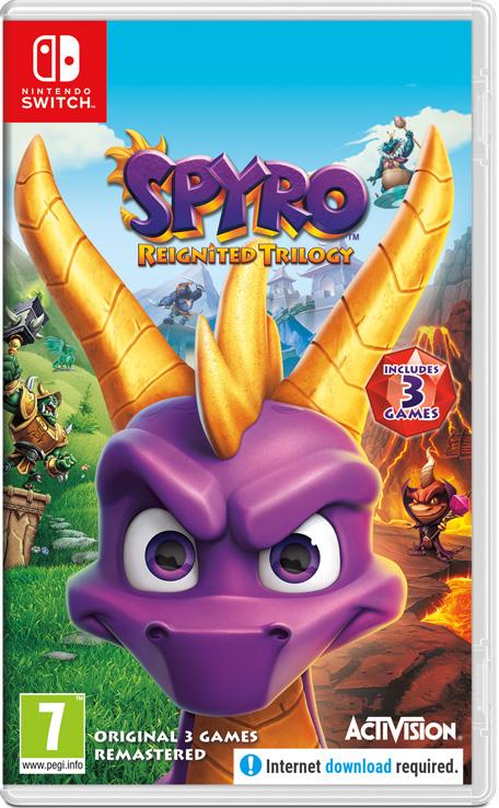 Spyro Reignited Trilogy - £17.49 @ Nintendo eShop