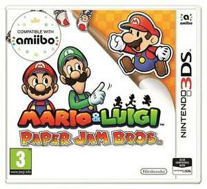 Mario and Luigi: Paper Jam Bros Nintendo 3DS Game - 3+ Years £1.99 @ Argos Ebay