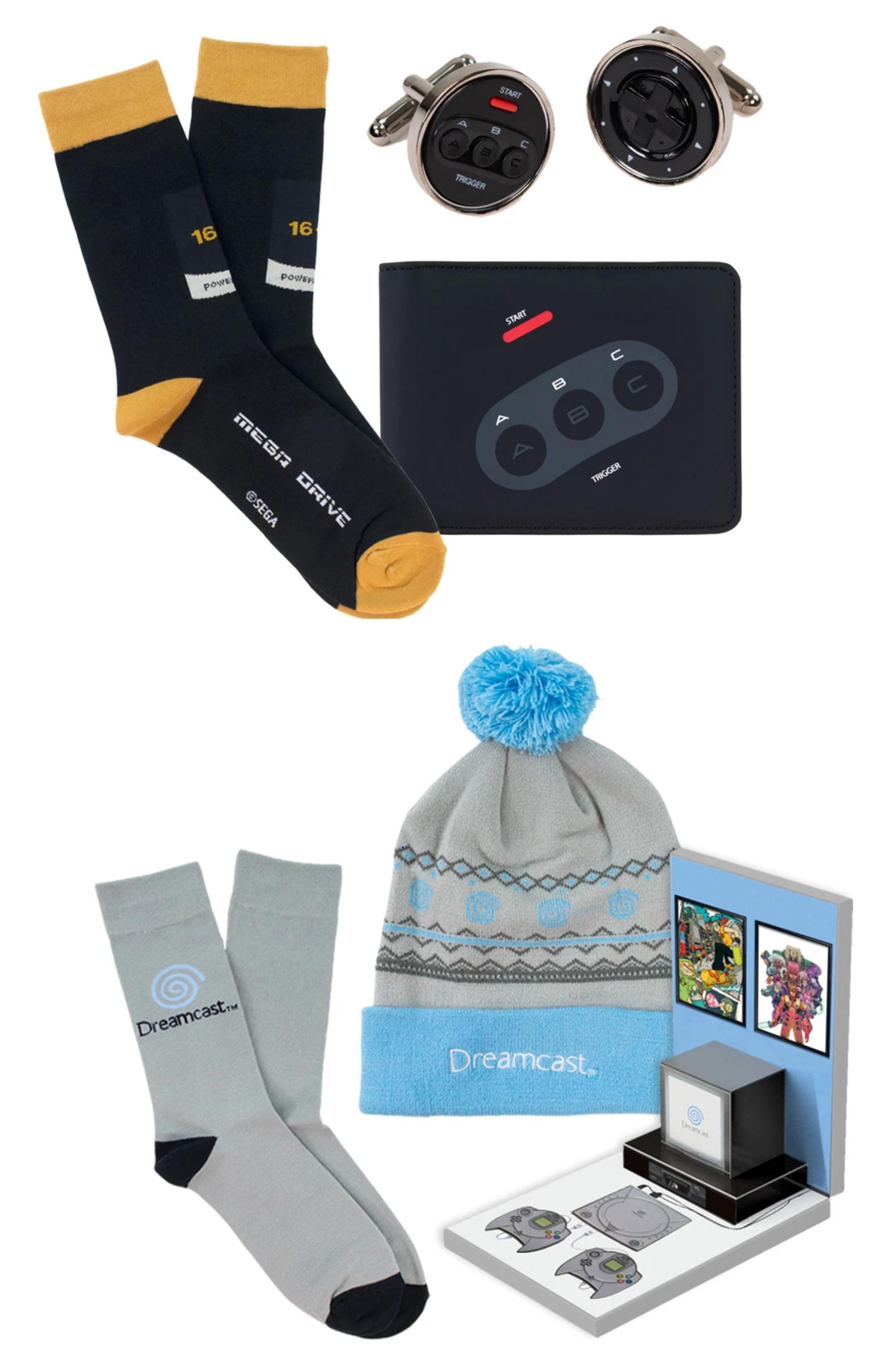 Mega Drive Fashion & Accessories Bundle - £15 / Dreamcast Fashion & Accessories Bundle - £25 + £2 postage @ Sega Shop