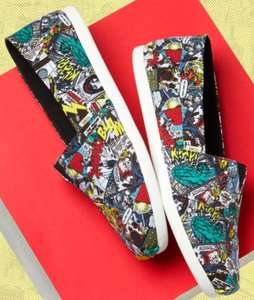 50% off Marvel X Toms Shoes Kids - £15 / Youth - £16 / Adults - £27.50 + Free delivery @ Toms