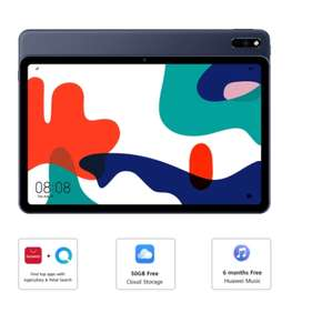 Huawei MatePad 10.4 2K FullView Display with 4GB RAM+64GB ROM (SD support upto 512GB) £229.99, with Flip Cover £229.99 @ Huawei -