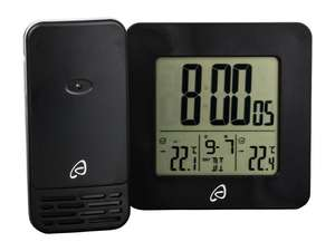 Lidl - Auriol Radio-Controlled Outdoor/Indoor Temperature Station White/Black £5.99